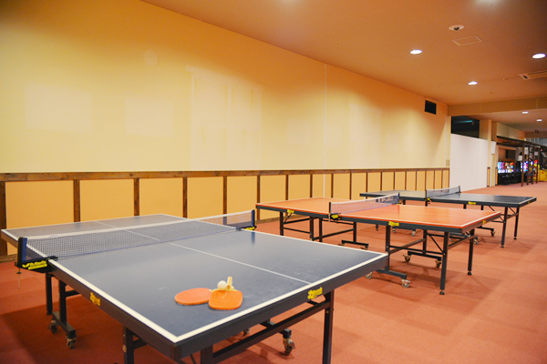 バリュー・ザ・ホテル三本木|リラクゼーションコーナー 卓球