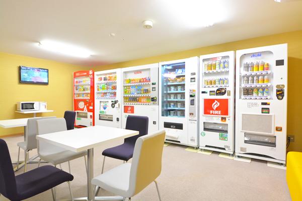 バリュー・ザ・ホテル矢本|自動販売機コーナー