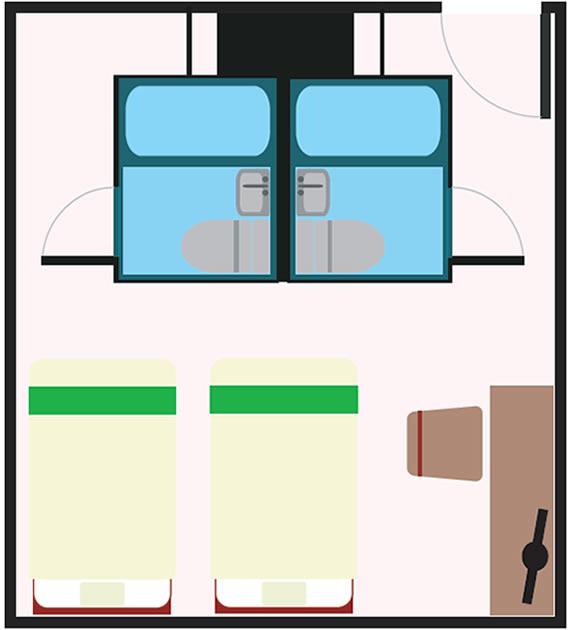 バリュー・ザ・ホテル三本木|ツインルーム